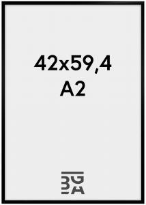 BGA Nordic Kader New Lifestyle Zwart 42x59,4 cm (A2)
