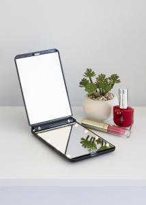 KAILA KAILA Make-up spiegel Fold III Zwart - 12x8 cm