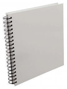 Estancia Vierkant Spiraalfotoalbum Wit -25x25 cm (80 Wit pagina's / 40 bladen)