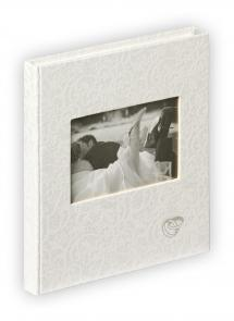 Walther Music Gastenboek - 23x25 cm (144 Witte pagina's / 72 bladen)