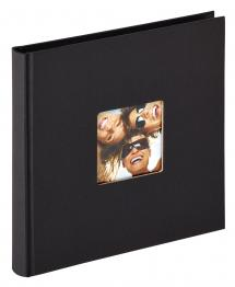 BGA Nordic Fun Album Zwart - 18x18 cm (30 Zwarte pagina's / 15 bladen)