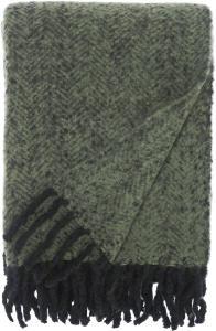 Svanefors Plaid Kim - Groen 130x170 cm