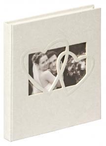 Walther Sweet Heart Gastenboek - 23x25 cm (144 Witte pagina's / 72 bladen)