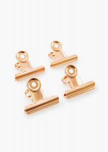 KAILA KAILA Poster Clip Rose Gold 40 mm - 4-p