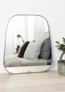 Hübsch Spiegel Trapezium Metal 42x48 cm