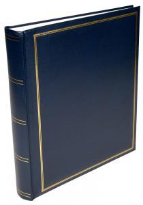 BGA Nordic Exclusive Line Maxi Album Blauw 30x33 cm (100 Witte pagina's / 50 bladen)