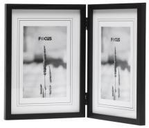 Focus Rock Zwart Vouwlijst 10x15 cm