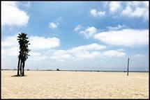 Bildverkstad Los Angeles Beach Poster