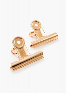 KAILA KAILA Poster Clip Rose Gold 65 mm - 2-p