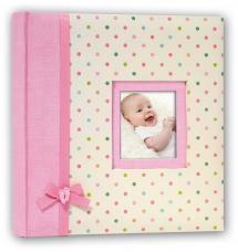 BGA Nordic Kara Babyalbum Roze - 200 Foto's van 11x15 cm
