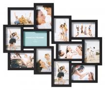 Walther Timeless Collagelijst Zwart - 12 Bilder