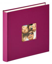 Walther Fun Design Paars - 30x30 cm (100 Witte pagina's / 50 bladen)