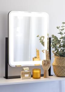KAILA KAILA Make-up spiegel III Zwart - 45x60 cm