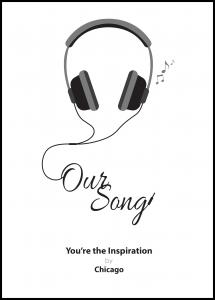 Personlig poster Our song