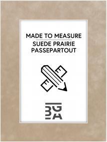 Egen tillverkning - Passepartouter Passe-partout Suede Prairie - Op maat gemaakt