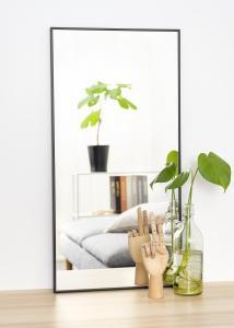 Estancia Spiegel Narrow Zwart 40x80 cm