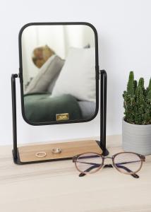 Hübsch Tafelspiegel Foot Zwart