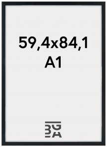 Estancia Kader Stilren Acrylglas Zwart 59,4x84,1 cm (A1)