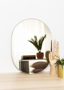 KAILA KAILA Spiegel Oval Dark Bronze 30x40 cm