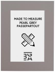 Passepartouter Måttbeställda Passe-partout Grijs - Op maat gemaakt (Witte kern)