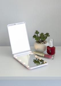 KAILA KAILA Make-up spiegel Fold III Wit - 12x8 cm