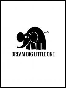 Bildverkstad Elefant Dream Poster