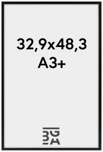Galleri 1 Edsbyn Zwart 32,9x48,3 cm (A3+)