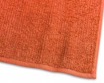 Borganäs of Sweden Gastendoek Stripe Badstof - Oranje 30x50 cm
