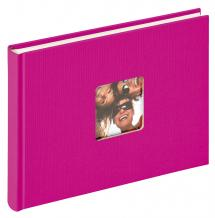 Walther Fun Album Roze - 22x16 cm (40 Witte pagina's / 20 bladen)