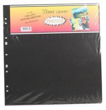 Focus Albumbladen Timesaver Gigant - 10 Zwarte vellen