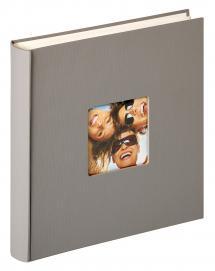 Walther Fun Design Grijs - 30x30 cm (100 Witte pagina's / 50 bladen)