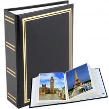 Exclusive Line Minimax Album Zwart - 100 Foto's van 10x15 cm