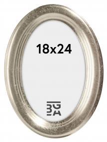 Bubola e Naibo Molly Ovaal Zilver 18x24 cm