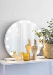 KAILA KAILA Make-up spiegel V Wit - 61x48 cm