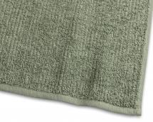 Borganäs of Sweden Badlaken Stripe Badstof - Groen 90x150 cm