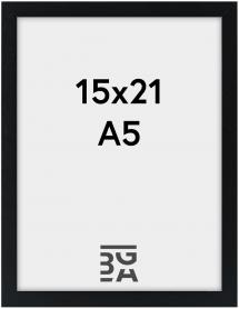 Estancia Kader Galant Zwart 15x21 cm (A5)