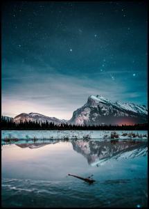 Bildverkstad Midnight Sky Poster