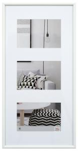 Walther Galeria Collagelijst Vit - 3 Foto's (13x18 cm)