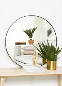 KAILA KAILA Round Mirror - Edge Black 90 cm Ø