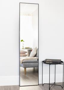 Estancia Spiegel Narrow Zwart 40x170 cm