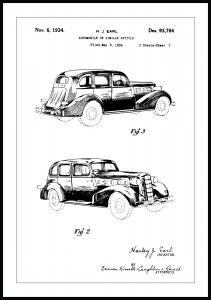 Bildverkstad Patenttekening - La Salle II Poster