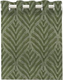 Redlunds Ooggordijn Leroy - Groen set van 2