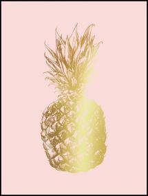 Artlink Pineapple Gold 30x40 cm