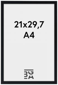 Galleri 1 Kader Edsbyn Zwart 21x29,7 cm (A4)