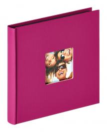Walther Fun Album Paars - 18x18 cm (30 Zwarte pagina's / 15 bladen)