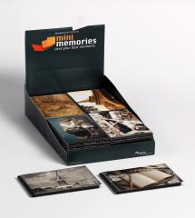 Walther Mini Memories Album Travel 6 varianten - 40 Foto's van 10x15 cm - 36-pack