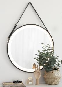 KAILA KAILA Spiegel Zwart LED 60 cm Ø