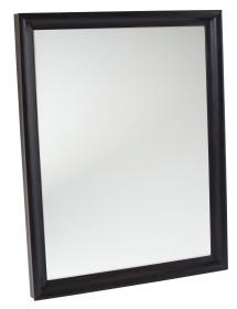 Spegelverkstad Spiegel Arjeplog Zwart-bruin - Eigen afmetingen