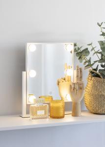 KAILA KAILA Make-up spiegel VII Wit - 30x36 cm