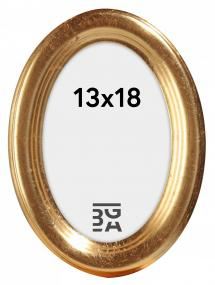 Bubola e Naibo Molly Ovaal Goud 13x18 cm